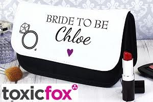 Personalised Wedding Bag - Toxic Fox